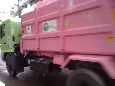 バングラデシュに日本からのゴミ収集車上陸